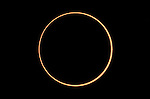 Annular eclipse, Katavi National Park, Tanzania