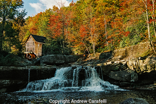Glade Creek Mill and West Virginia show off their Fall best.