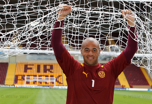 Motherwell keeper Darren Randolph looking ahead to the Europa League play-off with Odense
