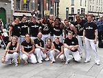 Mundo Copoeira who took part in the Drogheda Samba Festival.  Photo:Colin Bell/pressphotos.ie