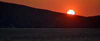 Michael McCollum.6/18/11.Sunset on the Aegean Sea, near Turkey