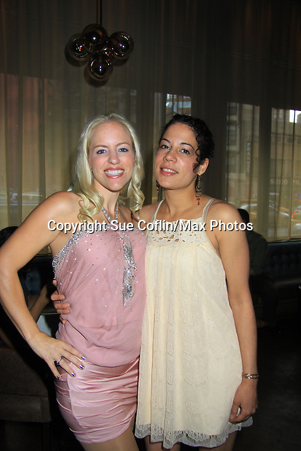 """Heidi Jane Sparks and Rachel Stone star in Season Four Premiere Party for Empire The Series """"Some of the Biggest Scandals Don't Make The Papers"""" on July 14, 2012 at the Tribeca Grand, New York City, New York with the cast. (Photo by Sue Coflin/Max Photos)"""