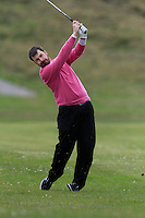Desmond Morgan (Mullingar) during round 1 of The West of Ireland Amateur Open in Co. Sligo Golf Club on Friday 18th April 2014.<br /> Picture:  Thos Caffrey / www.golffile.ie