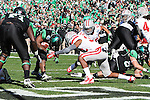 North Texas Mean Green running back Antoinne Jimmerson (22) in action during the Heart of Dallas Bowl game between the North Texas Mean Green and the UNLV Rebels at the Cotton Bowl Stadium in Dallas, Texas. UNT defeats UNLV 36 to 14.