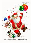 GIORDANO, CHRISTMAS SANTA, SNOWMAN, WEIHNACHTSMÄNNER, SCHNEEMÄNNER, PAPÁ NOEL, MUÑECOS DE NIEVE, paintings+++++,USGI1968,#X# stickers