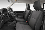 Front seat view of a 2014 Suzuki JIMNY JLX X-Citement 3 Door SUV 4WD Front Seat car photos