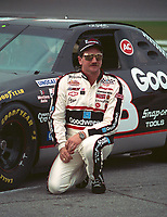 Dale Earnhardt at Daytona, February 1994. (Photo by Brian Cleary)