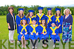 GRADUATION: The sixth class pupils of Clogher NS at the their Graduation Ceremony sat their school on Friday pictured Peggy Linnane (teacher), Mary Healy, Jordan Quirke, Darragh Clifford, Oonagh O'Keefe, Roisin Downey, Tommy Brosnan, Claire Kenny, Therese Keane, Kevin Lenihan and Sinead Murphy (principal).