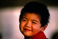 Young Chinese boy at the Summer Palace, Beijing, China
