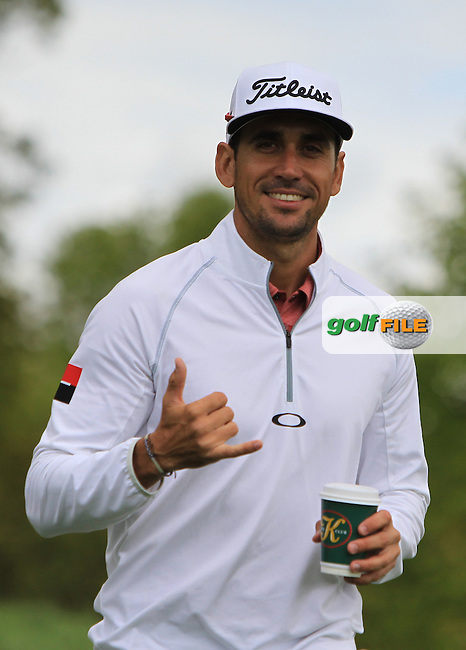 Rafa Cabrera-Bello (ESP) on the 5th during Wednesday's Pro-Am round of the Dubai Duty Free Irish Open presented  by the Rory Foundation at The K Club, Straffan, Co. Kildare<br /> Picture: Golffile | Thos Caffrey<br /> <br /> All photo usage must carry mandatory copyright credit <br /> (&copy; Golffile | Thos Caffrey)