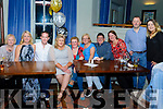 Mary V Dennehy (Centre) Celebrated her birthday with friends and family at The Meadowlands Hotel on Saturday evening. (Pictured l-r) Alice and Kathleen Murphy, Cathal McDonagh, Mary V Dennehy, Norma and Ann Marie Murphy, James Feely, Mary and Arthur Murphy and Rebecca Murphy.