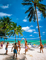 Dominikanische Republik, Punta Cana, Beachvolleyball | Dominican Republic, Punta Cana, beach volleyball