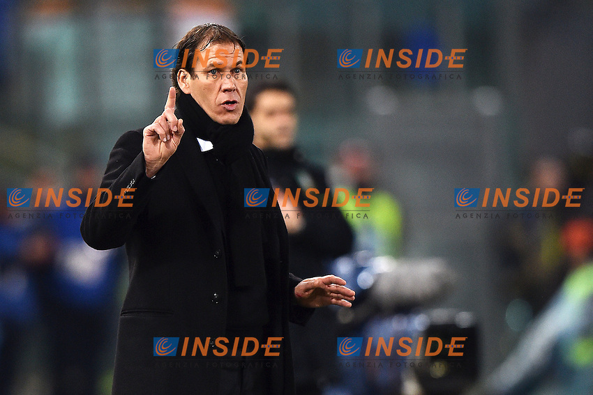 Rudi Garcia Roma <br /> Roma 31-01-2015 Stadio Olimpico, Football Calcio Serie A AS Roma - Empoli. Foto Andrea Staccioli / Insidefoto