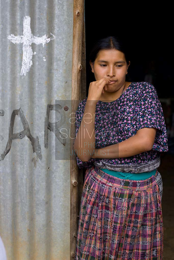 Julia Set, a 20-year-old Mayan woman who lives in a small town near San Juan Sacatepéquez, Guatemala, says she sold her baby in 2003 for 400 Quetzales (about U.S. $52) to a woman introduced to her by a midwife. Her baby and 8 others were found the next month in a Costa Rican house run by an unregistered adoption agency.