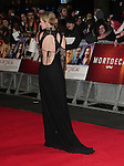 NON EXCLUSIVE PICTURE: MATRIXPICTURES.CO.UK<br /> PLEASE CREDIT ALL USES<br /> <br /> WORLD RIGHTS<br /> <br /> English actress Dakota Blue Richards attending the UK Premiere of Mortdecai at Empire Leicester Square, in London.<br /> <br /> JANUARY 19th 2015<br /> <br /> REF: GBH 15182