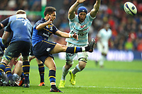 Jamison Gibson Park of Leinster and Wenceslas Lauret of Racing 92 during the European Champions Cup Final match between Leinster and Racing 92 at San Mames Stadium on May 12, 2018 in Bilbao, Spain. (Photo by Manuel Blondeau/Icon Sport)