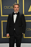 LOS ANGELES, USA. February 09, 2020: Joaquin Phoenix at the 92nd Academy Awards at the Dolby Theatre.<br /> Picture: Paul Smith/Featureflash