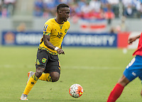 CARSON, CA - July 8, 2015: The 2015 Gold Cup match Costa Rica vs Jamaica at the StubHub Center . Final score, Costa Rica 2, Jamaica 2.