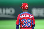 Angel Castillo (CUB), .MARCH 1, 2013 - WBC : .2013 World Baseball Classic .Exhibithion Game .between Fukuoka Softbank Hawks 8-10 Cube .at Yafuoku Dome, Fukuoka, Japan. .(Photo by YUTAKA/AFLO SPORT) [1040]