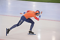 SPEEDSKATING: HAMAR: Vikingskipet, 28-02-2020, ISU World Speed Skating Championships, Sprint, 1000m Men, Kai Verbij (NED), ©photo Martin de Jong