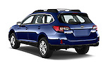 Car pictures of rear three quarter view of a 2015 Subaru Outback 2.5i CVT 4 Door Wagon Angular Rear
