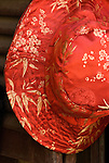 Silk Hat - Red silk hat, Hoi An, Viet Nam