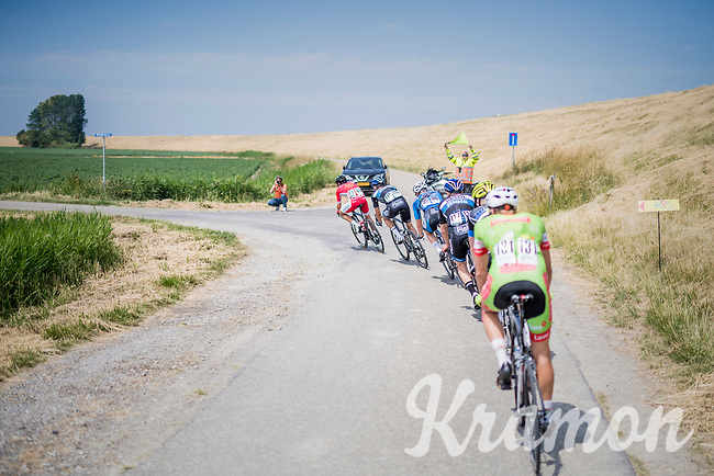 breakaway group<br /> <br /> Ster ZLM Tour (2.1)<br /> Stage 2: Tholen &gt; Hoogerheide (186.8km)