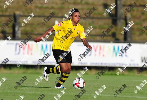 2014-07-26 / Voetbal / seizoen 2014-2015 / Berchem Sport / Dickson Agyeman<br /><br />Foto: mpics.be