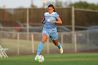 Piscataway, NJ - Saturday Aug. 27, 2016: Sofia Huerta during a regular season National Women's Soccer League (NWSL) match between Sky Blue FC and the Chicago Red Stars at Yurcak Field.