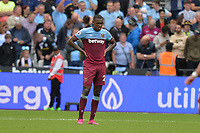Dejected Issa Diop of West Ham United during West Ham United vs Manchester City, Premier League Football at The London Stadium on 10th August 2019
