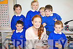 Pupils from Caherdaniel NS who started school on Thursday last pictured here front l-r; Cillian Maunsell, Ruth Kingerlee, Sean Fitzgerald, back l-r; Adam Corridan, Hannah O'Carroll, Ava Galvin & Vincie O'Leary.