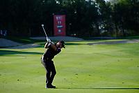 Jordan Smith (ENG) on the 11th fairway during the 2nd round of the Abu Dhabi HSBC Championship, Abu Dhabi Golf Club, Abu Dhabi,  United Arab Emirates. 17/01/2020<br /> Picture: Fran Caffrey   Golffile<br /> <br /> <br /> All photo usage must carry mandatory copyright credit (© Golffile   Fran Caffrey)