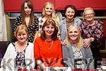 Enjoying the Womens Little Christmas in the Cassidys Restaurant on Saturday night, seated l-r, Eileen McCord, Caroline Coffey and Helena O&rsquo;Sullivan.<br /> Back l-r, Megan O&rsquo;Sullivan, Shauna O&rsquo;Sullivan, Joan Fitzell and Theresa Cullen.