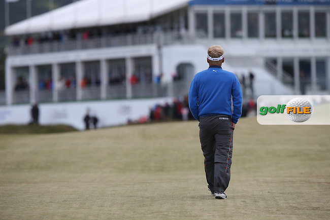 Soren Kjeldsen (DEN) leads the field by two shots during Round Three of the 2015 Dubai Duty Free Irish Open Hosted by The Rory Foundation at Royal County Down Golf Club, Newcastle County Down, Northern Ireland. 30/05/2015. Picture David Lloyd | www.golffile.ie
