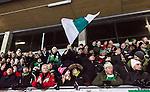 Stockholm 2015-01-06 Bandy Elitserien Hammarby IF - V&auml;ster&aring;s SK :  <br /> Hammarbys supportrar under matchen mellan Hammarby IF och V&auml;ster&aring;s SK <br /> (Foto: Kenta J&ouml;nsson) Nyckelord:  Elitserien Bandy Zinkensdamms IP Zinkensdamm Zinken Hammarby Bajen HIF V&auml;ster&aring;s VSK supporter fans publik supporters