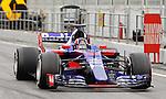 Daniil Kvyat (RUS) Scuderia Toro Rosso STR12 at Formula One Testing, Day 2, Circuit Barcelona Catalunya