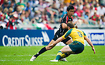 Australia vs Canada on Day 2 of the  IRB 2011 Cathay Pacific / Credit Suisse Hong Kong Rugby Sevens at the Hong Kong Stadium. Photo by Victor Fraile / Credit Suisse