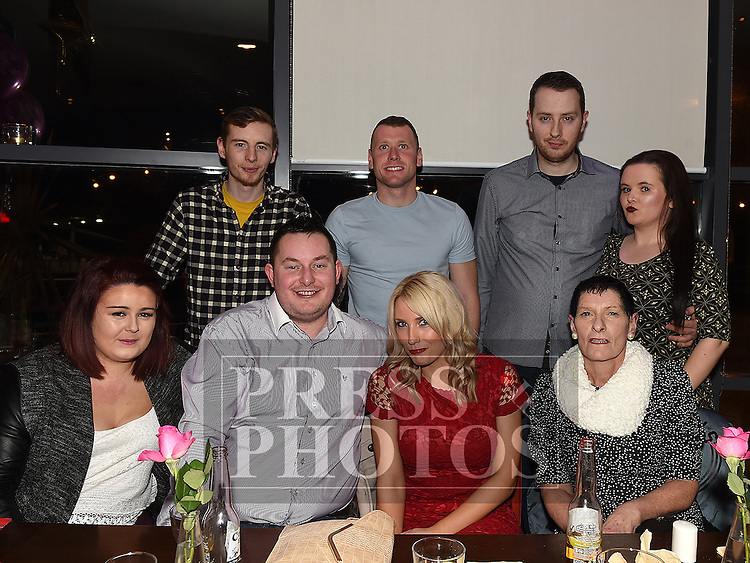 Tara McKernon celebrating her 30th birthday with family and friends in Brú. Photo:Colin Bell/pressphotos.ie