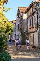 France, Lot-et-Garonne (47), Pujols, labellis&eacute; Les Plus Beaux Villages de France, la rue principale du village // France, Lot et Garonne, Pujols, labelled Les Plus Beaux Villages de France (The Most beautiful<br /> Villages of France)