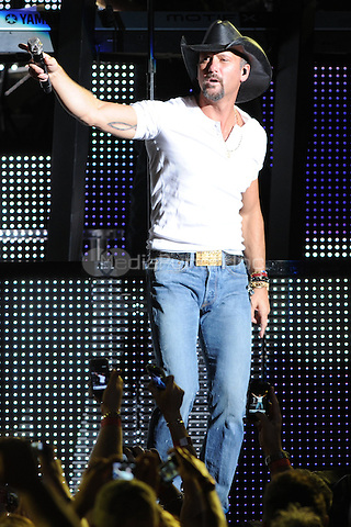 WEST PALM BEACH, FL - APRIL 30 :  Tim McGraw performs at the Cruzan Amphitheatre on April 30, 2011 in West Palm Beach Florida. © MPI04 / Media Punch Inc.