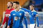 St Johnstone v Kilmarnock&hellip;24.11.18&hellip;   McDiarmid Park    SPFL<br /> Joe Shaughnessy wearing a rainbow armband<br /> Picture by Graeme Hart. <br /> Copyright Perthshire Picture Agency<br /> Tel: 01738 623350  Mobile: 07990 594431