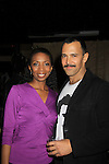 "Castmate Sharon Washington and Sebastian La Cause at a private screening of Sebastian La Cause's web series ""Hustling"" Season Two - 'cause everybody got a hustle -  was held on November 19, 2012 at TriBeca's Cinemas, New York City, New York. Days of our Lives ""Silvio"", One Live To Live and All My Children's Sebastian is the creator of Hustling along with being the writer, director and star (Photo by Sue Coflin/Max Photos)"
