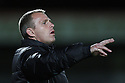 Stevenage manager Gary Smith. Stevenage v Walsall - npower League 1 -  Lamex Stadium, Stevenage - 18th September, 2012. © Kevin Coleman 2012.