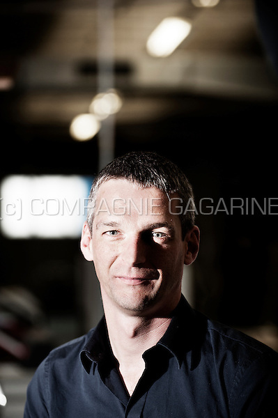 Stefaan Moeyaert, CEO of the Captains of Printing company (Belgium, 09/10/2015)