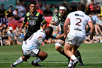 Hurricanes' Heiden Bedwell-Curtis  in action during the Super Rugby Preseason - Hurricanes v Crusaders at Levin Domain, Levin, New Zealand on Saturday 2 February 2019. <br /> Photo by Masanori Udagawa. <br /> www.photowellington.photoshelter.com
