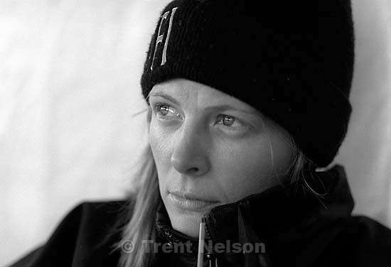 Laura Nelson looking sad, mad<br />