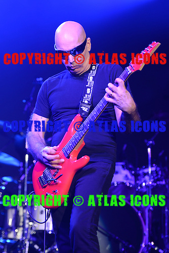 FORT LAUDERDALE, FL - SEPTEMBER 12 :  Joe Satriani performs at the Parker Playhouse on september 12, 2013 in Fort Lauderdale , Florida.( Credit Larry Marano (C) 2013
