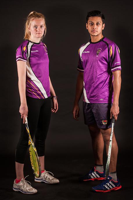 Manchester University Squash Team portraits, November 2015.