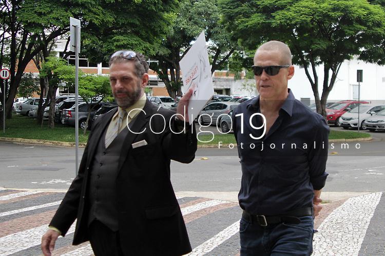 CAMPINAS, SP 05.02.2019-MAURICIO ROSA, ex servidor da prefeitura de Campinas, depoe no Ministerio Publico na tarde desta terça-feira (5). (Foto: Denny Cesare/Codigo19)