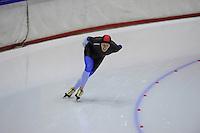 SCHAATSEN: HEERENVEEN: Thialf, 4th Masters International Speed Skating Sprint Games, 25-02-2012, Karel Margy (M55) 3rd, ©foto: Martin de Jong